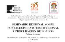 EN AGENDHA | Veracruz: Seminario sobre procuración de fondos