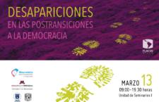 EN AGENDHA | Seminario Desapariciones en las postransiciones a la democracia