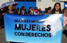 IMAGEN DEL DÍA | Reclaman asilo mujeres migrantes