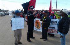IMAGEN DEL DÍA | Protestan en San Quintín en tercer aniversario de paro laboral