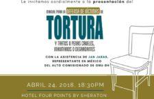 EN AGENDHA | Presentación de manual para la defensa de víctimas de tortura