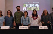 Lanzan red #RompeElMiedo para proteger a periodistas y activistas durante las elecciones