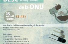 EN AGENDHA | Presentación de observaciones de Comité DESC a México