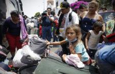 IMAGEN DEL DÍA | Caravana Migrante parte hacia la CdMx