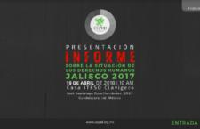 EN AGENDHA | Informe sobre situación de DDHH en Jalisco
