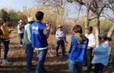 IMAGEN DEL DÍA | Visita misión de la ONU-DH a pueblos sembradores de agua en Oaxaca