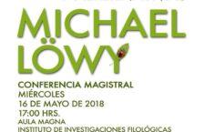 EN AGENDHA | Conferencia magistral de Michael Löwy