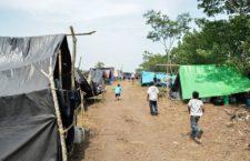 Denuncian abandono a desplazados guatemaltecos en México