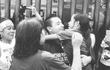 IMAGEN DEL DÍA | Libertad condicional a León Fierro, dirigente de Mexicali Resiste