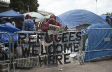 IMAGEN DEL DÍA | Migrantes esperan para solicitar asilo en Estados Unidos