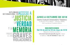 EN AGENDHA | Diplomado Internacional sobre Acceso a la Justicia en Graves Violaciones