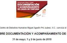 EN AGENDHA | Taller sobre acompañamiento y documentación de casos de tortura