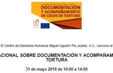 EN AGENDHA | Conversatorio sobre acompañamiento y documentación de casos de tortura
