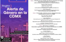 EN AGENDHA | Foro sobre alerta de género en la CDMX