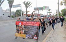 IMAGEN DEL DÍA | Marchan por madre e hija desaparecidas en Coahuila