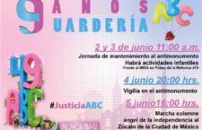 EN AGENDHA | Actividades en CDMX por aniversario de Guardería ABC