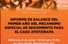 EN AGENDHA | Informe sobre el primer año del Mecanismo Especial de Seguimiento al caso #Ayotzinapa