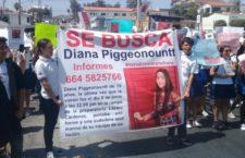 IMAGEN DEL DÍA | En Tijuana, exigen estudiantes encontrar a Diana Piggeonountt con vida