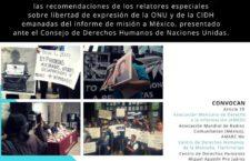 """EN AGENDHA   Foro """"Desafíos de la libertad de expresión para un gobierno en transición"""""""