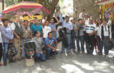IMAGEN DEL DÍA | Se manifiestan reporteros en Chilpancingo e Iguala para exigir justicia