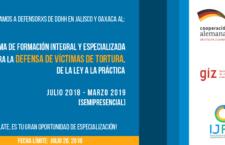 EN AGENDHA | Oaxaca y GDL: Formación para defensores de víctimas de tortura