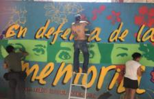 IMAGEN DEL DÍA | Pintan mural para recordar el multihomicidio de la Narvarte