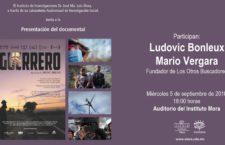 EN AGENDHA | Presentación y proyección del documental Guerrero