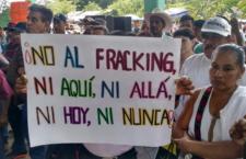 IMAGEN DEL DÍA | Se pronuncian contra el fracking en la Huasteca
