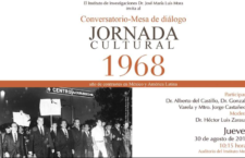 EN AGENDHA | Conversatorio Jornada Cultural 1968, año de contrastes en México