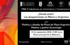 EN AGENDHA | Conversatorio sobre desapariciones en México y Argentina