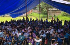 IMAGEN DEL DÍA | Indígenas de Chiapas realizan foro por la libre determinación