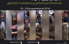 EN AGENDHA | Coloquio Internacional Desaparición forzada: gestión ciudadana y prácticas forenses