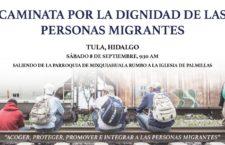 EN AGENDHA | Hidalgo: caminata por las personas migrantes