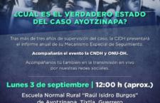 EN AGENDHA | Informe de la CIDH en Ayotzinapa