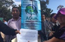 IMAGEN DEL DÍA | Exigen a nueva legislatura prohibir el fracking en la Huasteca