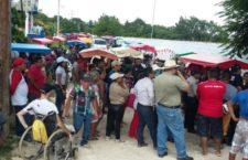 Clausuran habitantes mega granja porcícola en cenotes de Yucatán