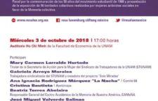 EN AGENDHA | Panel 3 de octubre Otra Voz Canta. 50 años mujeres bordando Memoria