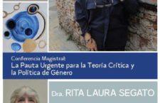 EN AGENDHA | Conferencia magistral de Rita Segato