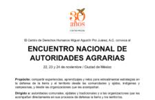 EN AGENDHA | Encuentro Nacional de Autoridades Agrarias