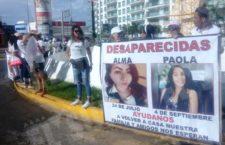 IMAGEN DEL DÍA | Exigen familiares y amigos la búsqueda de mujeres desaparecidas en Acapulco