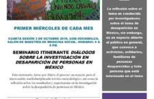 EN AGENDHA | Seminario itinerante sobre desaparición de personas
