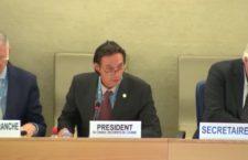 Más de cien países, preocupados por crisis de derechos humanos en México