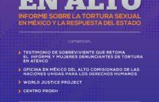 EN AGENDHA   Presentación de informe sobre tortura sexual