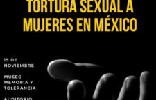 EN AGENDHA | Conferencia sobre tortura sexual