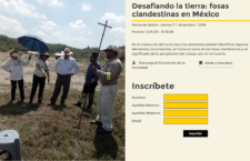 EN AGENDHA | Cine Debate Desafiando la tierra: fosas clandestinas en México