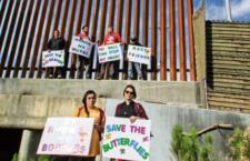 IMAGEN DEL DÍA | Activistas de EU protestan contra Trump en Tijuana