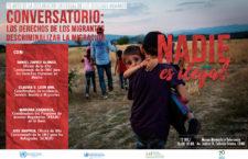 EN AGENDHA | Conversatorio para descriminalizar la migración