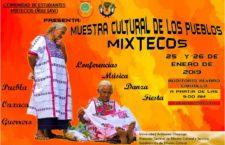 EN AGENDHA | Muestra Cultural de los Pueblos Mixtecos Ñuu Savi