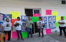 IMAGEN DEL DÍA | Familiares de desaparecidos toman Fiscalía regional en Veracruz