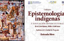 EN AGENDHA | Coloquio sobre educación intercultural